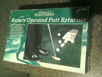 Battery Operated Putt Returner