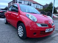 2009 NISSAN MICRA 5DOORS 1.2, 0NE OWNER,72000 LOW MILES, MOT MARCH 2019, NO FAULTS AT ALL, HPI CLEAR