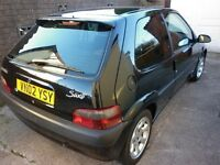 Citroen Saxo VTR 2002 In black very good condition