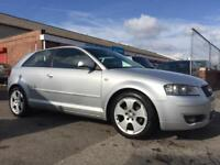 2004 AUDI A3 TDI SPORT *DIESEL* FULL SERVICE HISTORY*CAMBELT REPLACED*SAT NAV*NEW MOT NO ADVISORIES*