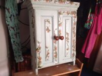Hand painted wardrobe and cabinet - Offers considered