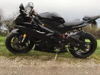 Yamaha r6 2007 2co 1 owner 7221 miles
