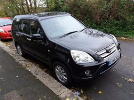 2006 Honda CRV 2.2 Diesel, Full MOT, FSH, new tyres, brakes & battery, tow bar, sensors, in Redhill