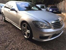 Mercedes-Benz S Class 5.5 S500 7G-Tronic 4dr£13,995 p/x welcome AMAZING FACELIFT S63 BODY KIT