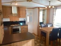 Premium Static Caravan Holiday Home - Impeccable Condition - Beach & Town Adjacent - Quiet Park