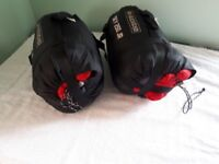 2 Ayacucho youth mummy shaped sleeping bags