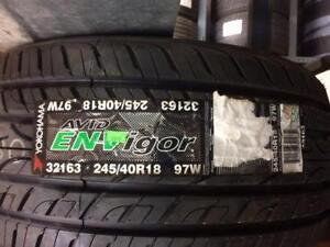 245/40/18 Yokohama Avid Envigor A/S - ONE tire