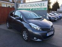 Toyota Yaris 1.33 VVT-i Trend M-Drive S 5dr£5,995 p/x welcome FREE 6 MONTH WARRANTY.NEW MOT