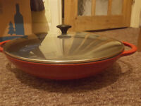 Cast iron Chasseur wok £60