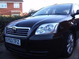 Toyota Avensis 1.8 T3 S-Semi-Auto. 2003. Hornchurch, London
