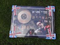 U2 Joshua Tree limited edition platinum disc display