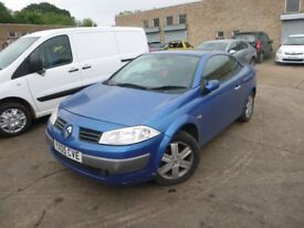 RENAULT MEGANE - YX05CVE - DIRECT FROM INS CO