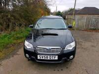 GET READY FOR WINTER. Subaru Outback RE Boxer TD 4X4 78,000 Miles, 1 Years MOT, Tel-07477651115.