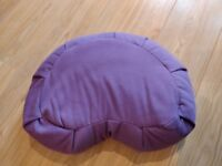 Crescent Meditation Cushion - Purple