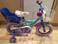 Disney Frozen 12inch bike