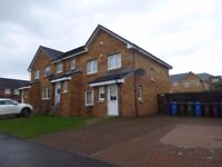Spacious 3 bedroom Unfurnished Family Home, Myreside Way, Carntyne, East End Glasgow (act 582)