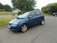 MAZDA 2 ANTARES 1.4 DIESEL HATCHBACK 5 DOOR BLUE 2007 BARGAIN ONLY £995 *LOOK* PX/DELIVERY