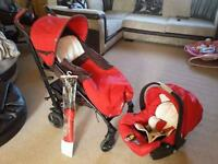 Pram Chicco travel system