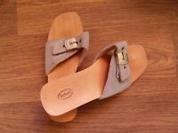 ladies scholl sandals