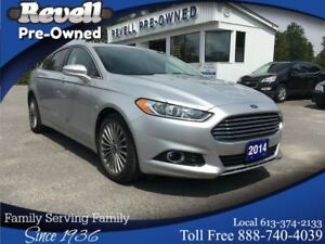 2014 Ford Fusion Titanium AWD  *1-owner  Ecoboost  Moon  Lthr  N