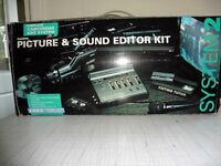 Camcorder Picture & Sound Editor Kit