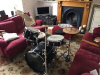Sound Percussion Drum kit including Zildjian cymbals