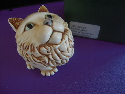 Fat Cat's Meow Signed Event  Harmony Kingdom Box Figurine