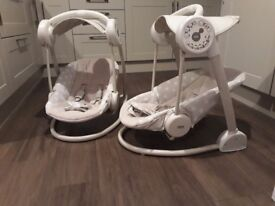 Mamas and Papas swing chairs