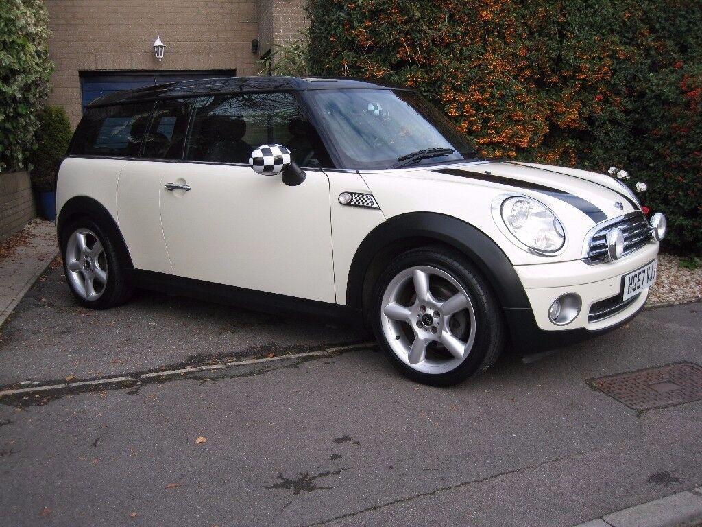 Mini Cooper Clubman 1.6 Petrol, 2007 in White and Black
