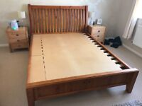 PINE KING SIZE DOUBLE BED by HERITAGE