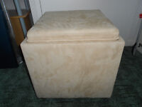 Storage Box also doubles as seating