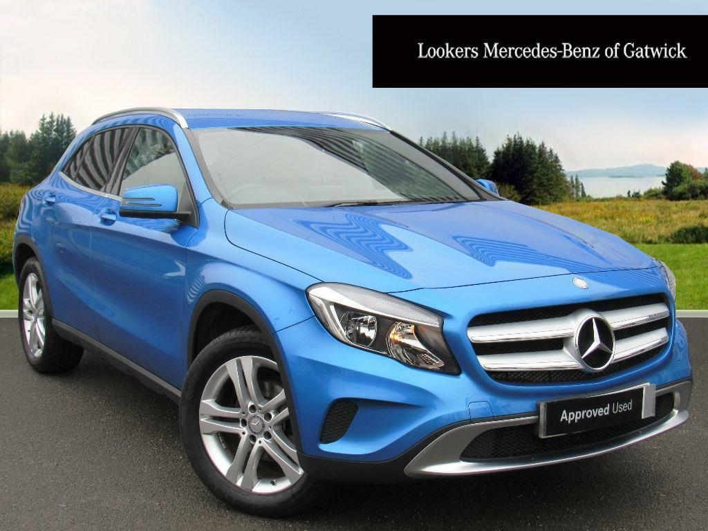 mercedes benz gla class gla 200 d sport blue 2016 02 25. Black Bedroom Furniture Sets. Home Design Ideas