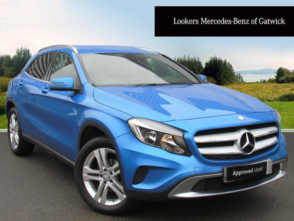 Mercedes benz gla class gla 200 d sport blue 2016 02 25 for 2016 mercedes benz gla