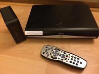Sky HD box & router