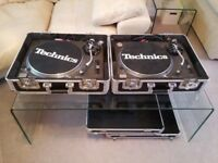 2x Technics SL-1210MK2's + Flight Cases + DJX700 + £3K+ Vinyl Complete DJ Setup!