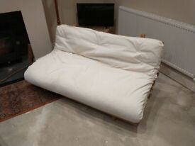 Good quality, Canadian-made double futon with mattress