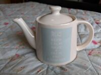 Teapot - Keep calm have a brew and a biscuit