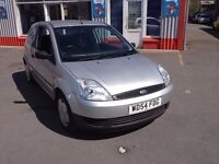 54 Ford Fiesta 1.25 Petrol 3 door, 118,000 miles, MOT May 2017, We are open 7 days, Part ex welcome.