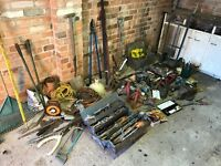 Garage full of tools