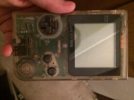 See through Nintendo Gameboy pocket