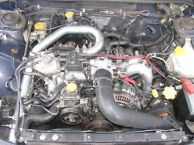 Subaru Impreza Version 5 Reverse Inlet Kit & Front Mount Intercooler
