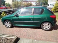 Peugot 206 for sale (spares or repair)