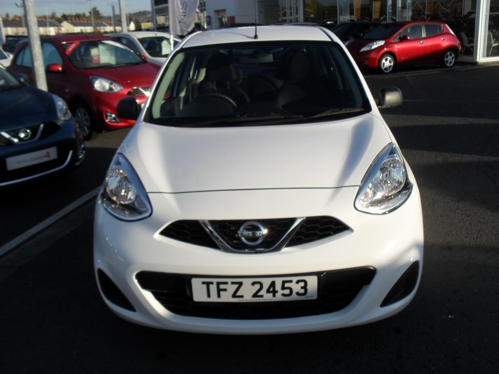 nissan micra 1 2 visia 5dr white 2014 06 19 in newtownards county down gumtree. Black Bedroom Furniture Sets. Home Design Ideas