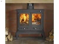 firefox 12 multi fuel woodburner two years old comes with quite a large pile of logs £250 the lot