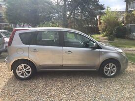 NISSAN NOTE 1.6 ACENTA 2009-PETROL/MANUAL **HPI CLEAR** BELOW AVERAGE MILES!!! GREAT FAMILY CAR!!!