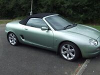 MGF STEPTRONIC with sports gear and paddle control on steering
