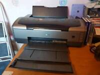 Epson Stylus Photo R1800 A3+Printer with accessories and A3, A3+ paper and ink