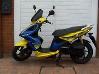 ** Immaculate 2009 Kymco 50cc Super 8 Scooter **