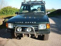 LAND ROVER DISCOVERY 300 TDI 1995 3 DOOR GREEN MOT 29th DECEMBER 2017 150000 MILES WITH WINCH FITTED