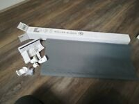 Grey Roller Blind (Never been used)
